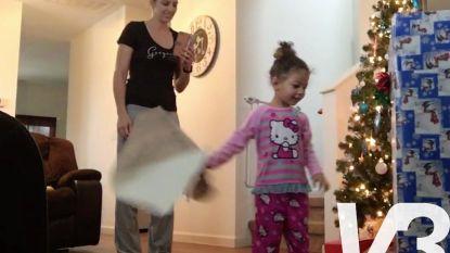 VIRAL3: Klein meisje krijgt een wel heel onverwacht cadeau