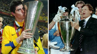 Traditieclubs tegenover elkaar in Europa League-finale: van de triomftocht van Raymond Goethals tot glorie voor piepjonge Courtois