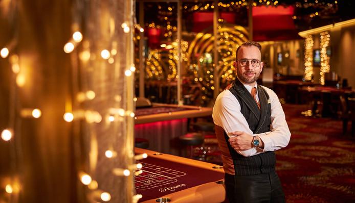 Jean-Paul Knubben: ,,Na al die jaren ervaring als croupier, weet ik dat je niet te veel stil moet staan bij die hoge bedragen die omgaan in het casino.''