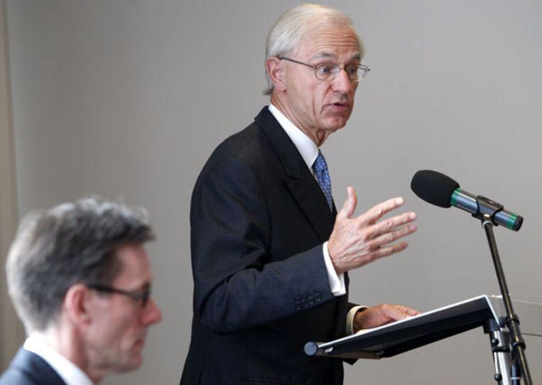 Oud-minister van Financiën Onno Ruding vindt de voorspelling van het CPB te optimistisch. Foto ANP Beeld