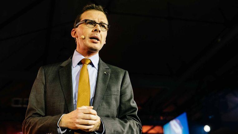 """Wouter Beke over de N-VA: """"Wie 33 procent van de stemmen heeft, vertegenwoodigt niet alleen Rotary Vlaanderen, hé"""""""