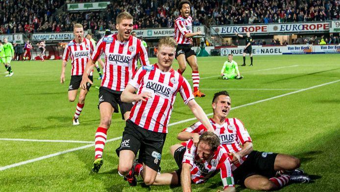 Sparta promoveerde maandag naar de Eredivisie.