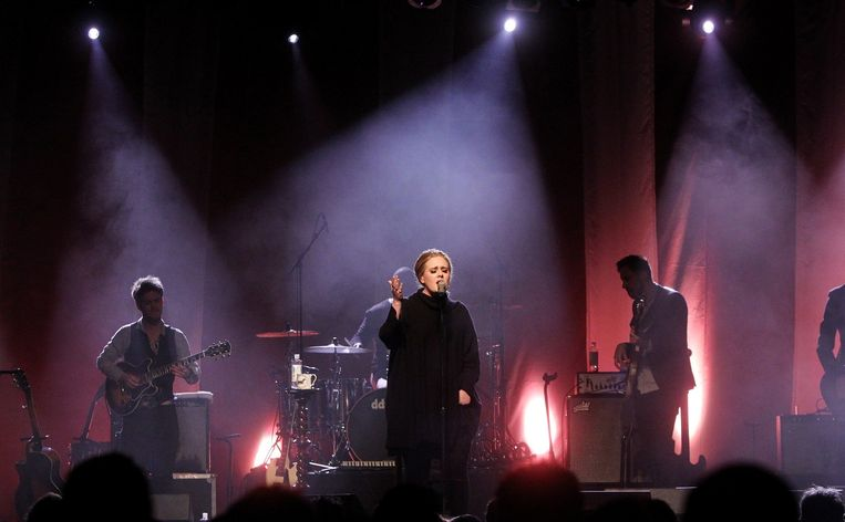 Adele in 2011 Beeld null