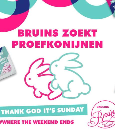 Geniale 1 aprilgrap? Tegen betaling condooms testen bij Dancing Bruins