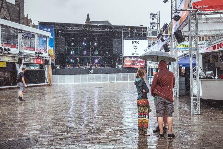Gentse Feesten in de regen