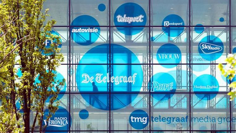 Het Vlaamse Mediahuis en VP Exploitatie hebben hun overnamebod op TMG verhoogd van 5,25 naar 5,90 euro per aandeel Beeld ANP