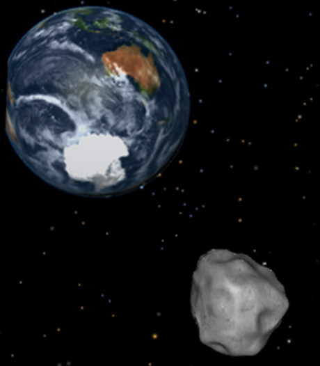 Bekijk vanuit huis de asteroïde die langs de aarde scheert