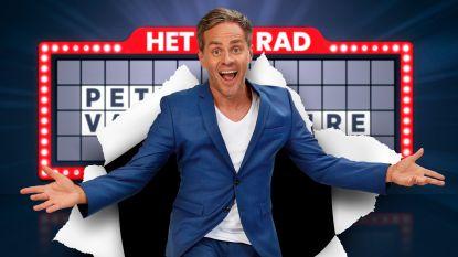 """'Rad Van Fortuin' komt terug met Peter Van de Veire als presentator: """"Als ik een malle pruik kan opzetten, ga ik het niet laten"""""""