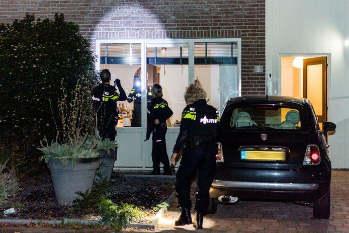 Het huis werd omstreeks 00.30 uur beschoten.