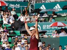 Bertens wint in Seoul en doet goede zaken voor WTA Finals