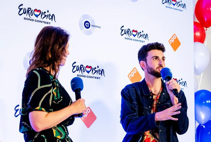 Roos Moggré en Andrew Makkinga gaan alle persconferenties van het Eurovisiesongfestival leiden.