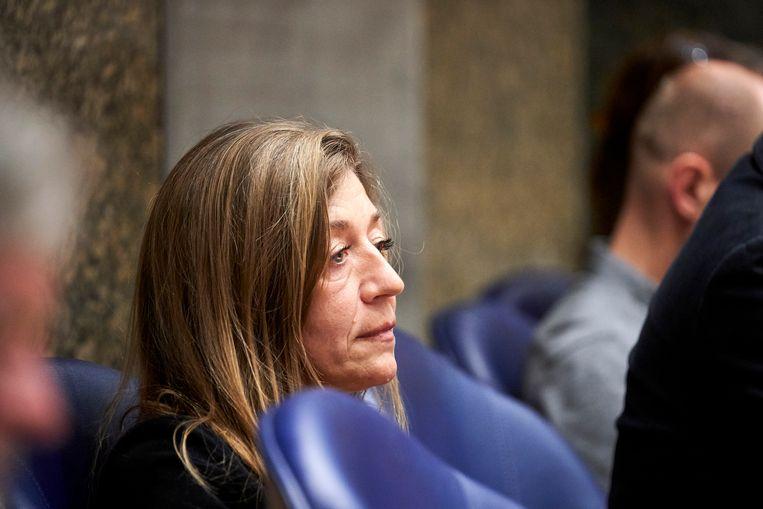 De moeder van Anne Faber, Elze van Heeswijk, is woensdag aanwezig bij het debat in de Tweede Kamer over de moord op haar dochter. Beeld Phil Nijhuis