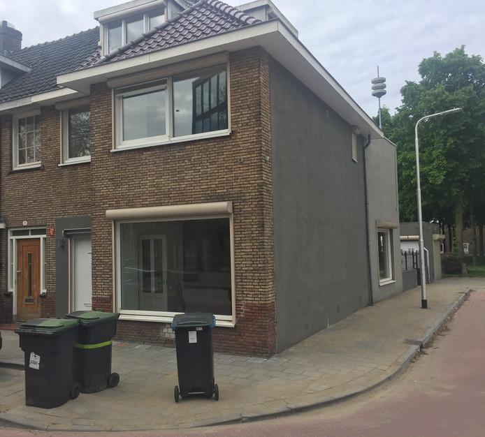 De woning aan de Don Sartostraat in Tilburg.