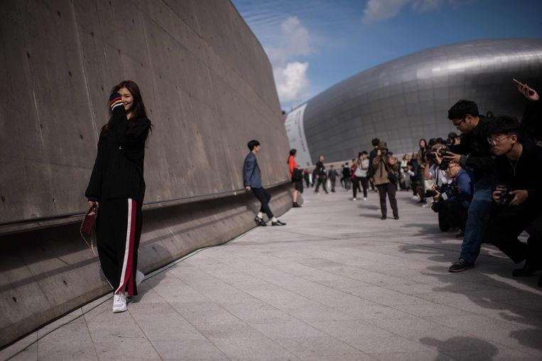 Seoul Fashion Week, Dongdaemun Design Plaza.