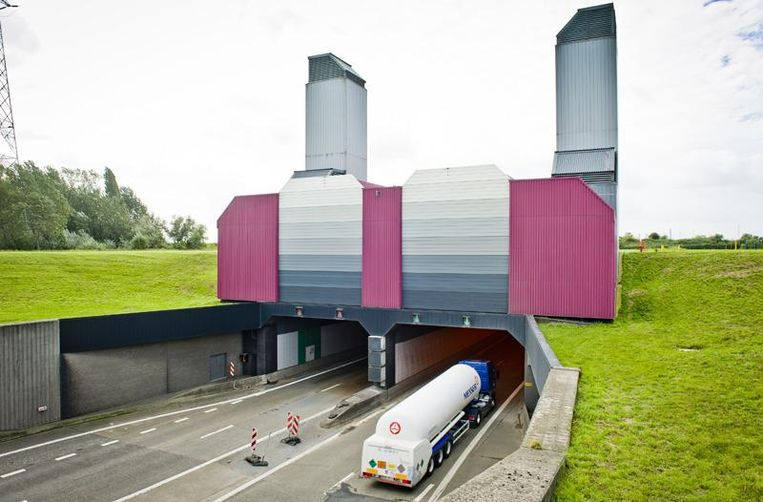 De Liefkenshoektunnel.