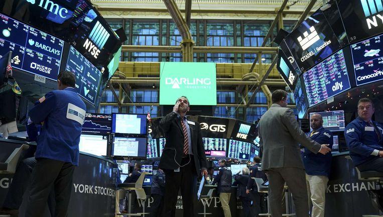 De New York Stock Exchange. Beeld afp