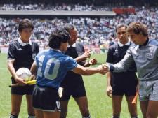 Bij Shilton zit het nog steeds diep: 'Maradona was groots, maar niet sportief'