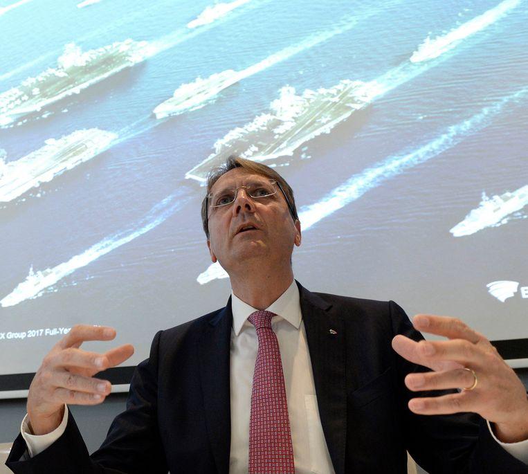 CEO van Besix, Rik Vandenberghe.
