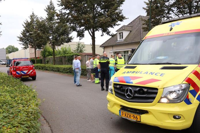 Scooterrijder gewond in Bladel.