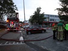 Brand in toko aan de Vondelsingel in Spijkenisse