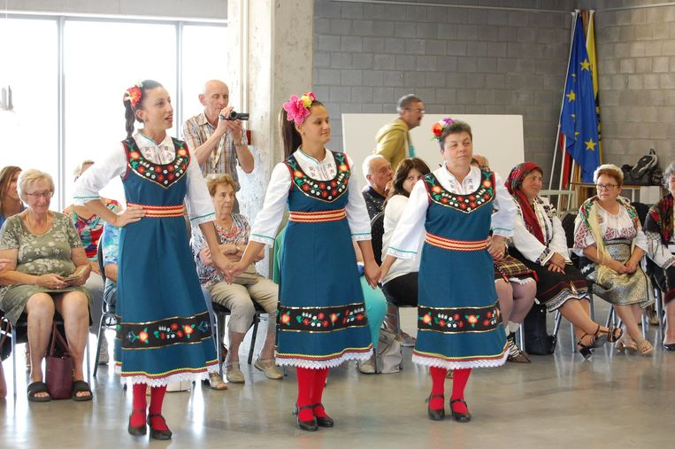 Op het programma stonden onder meer workshops dansen.