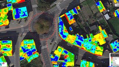 Thermografische luchtfoto van Opwijk is klaar: check hier hoe goed (of slecht) jouw huis geïsoleerd is