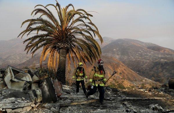 Branden in Californië zijn het 'nieuwe abnormaal'