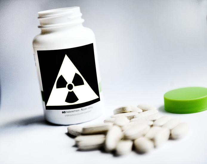 Jodiumpillen bieden enige bescherming bij nucleaire incidenten