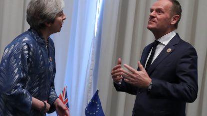 May vraagt uitstel voor brexit in brief aan Tusk