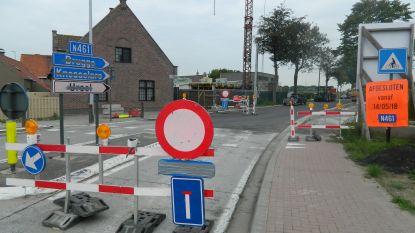 Werken duren langer: baan tussen Ursel en Zomergem opent pas in april