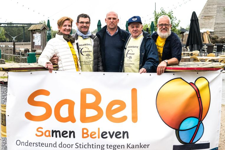 De organisatoren van de familiedag van SaBel.