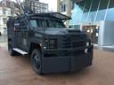 De agenten op het terrein kunnen de komende maanden rekenen op de Bearcats, de Amerikaanse pantserwagens van de politie.
