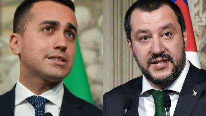 """Italiaanse regering schaart zich achter protest van 'gele hesjes' tegen president Macron: """"Blijf voet bij stuk houden"""""""