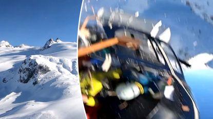 Politie geeft beelden vrij van vliegtuigcrash boven Alpen waarbij Belg omkwam: GoPro-camera's inzittenden filmden alles