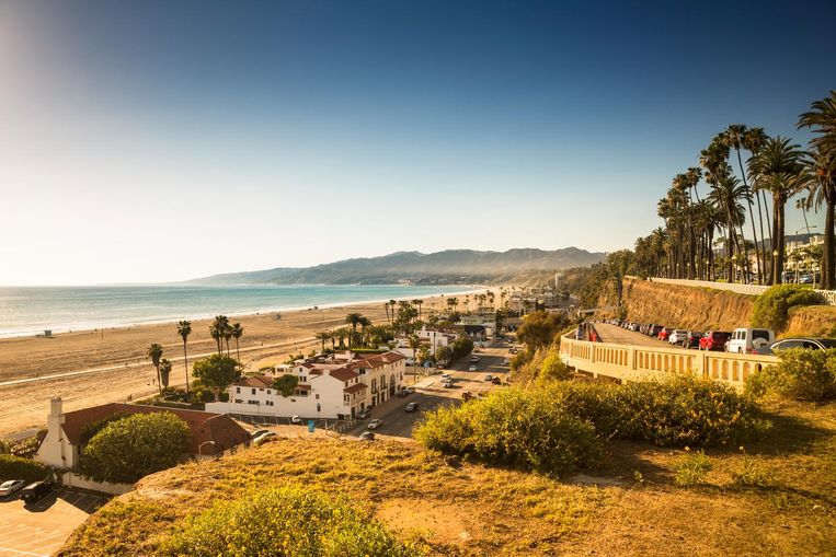 Stad: Los Angeles. Kusaka: 'LA is de plek waar ik uitvond wat ik leuk vond en wat ik wilde doen.' Beeld Getty Images