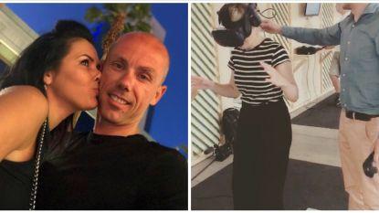 SHOWBITS. Sven Nys is dolverliefd en Cathérine Moerkerke beleeft de schrik van haar leven