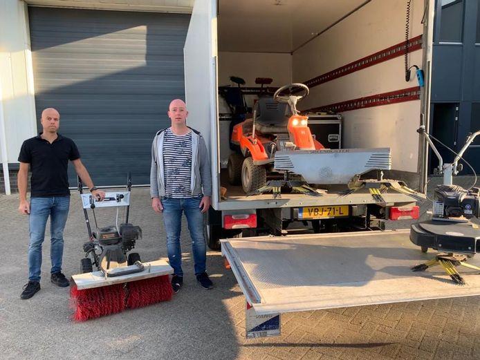 Jeffrey van der Loo en Sander van der Wolk begonnen in de coronacrisis een nieuw bedrijf.