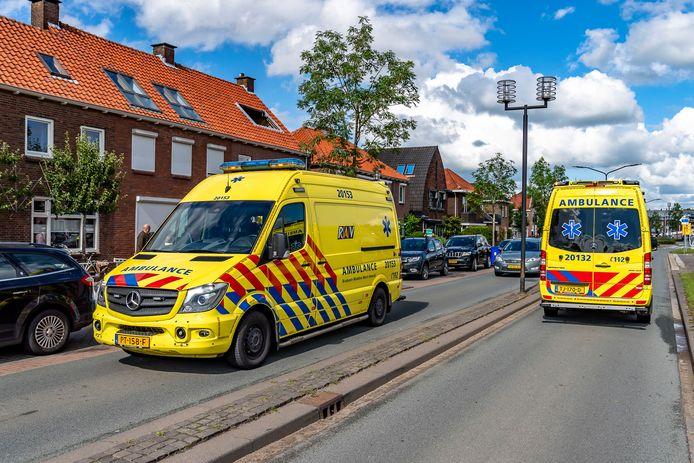 Een fietser kwam ongelukkig ten val in Geertruidenberg.