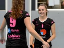 De lach is er altijd bij Oer-Gennepse FAST-volleybalster Rachel Feron