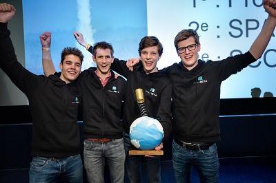 Niels, Rens, Jesse en Tim.