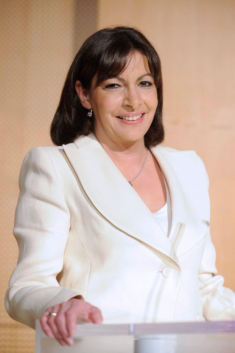 De Parijse burgemeester Anne Hidalgo.