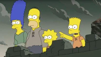 'The Simpsons' voorspelde het einde van 'Game of Thrones'