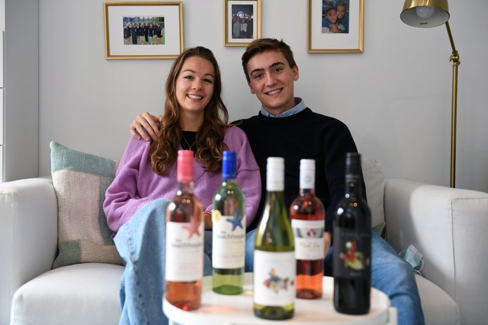 Annaëlle de Buck (19) en Alexander De Boeck (21)