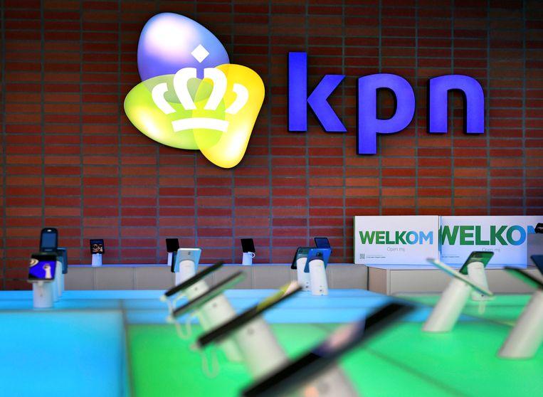 Het KPN hoofdkantoor in Rotterdam.  Beeld REUTERS