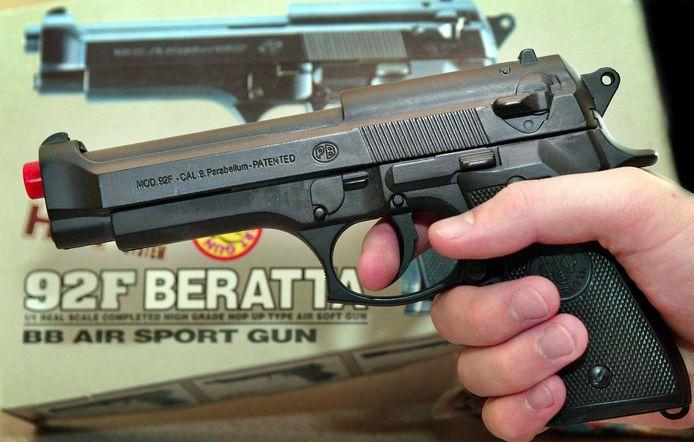 Een luchtdrukpistool. Foto ter illustratie.