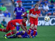 Goirlenaar De Leeuw kan na zware blessure eindelijk weer voetballen: 'Geniet van avontuur in Amerika'