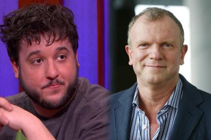 RTL-journalist Daniel Verlaan & Evert Santegoeds, gezicht van Shownieuws