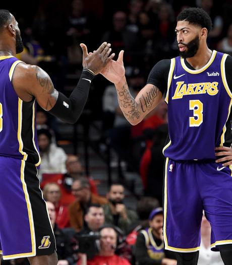 Lakers en Bucks blijven winnen in NBA