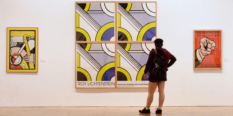 Werk van Roy Lichtenstein. Beeld EPA