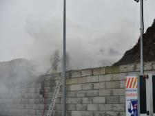 Flinke brand bij afvalverwerker in Duiven